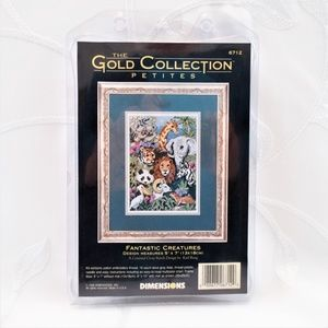 Counted Cross Stitch Kit Fantastic Creatures 2560